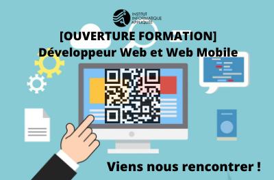 Ouverture Formation Developpeur Web et Web Mobile